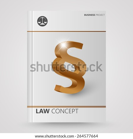 Cover brochure abstract symbol paragraph  - stock vector