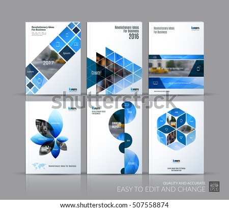 Annual Report Layout Images RoyaltyFree Images Vectors – Annual Report Brochure