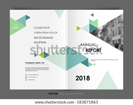 Annual Report Template Stock Images, Royalty-Free Images & Vectors