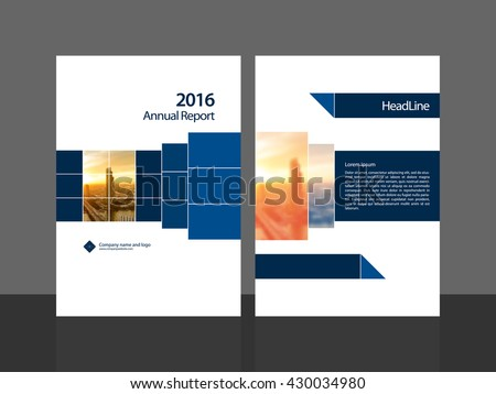 Annual Report Template Stock Images RoyaltyFree Images Vectors