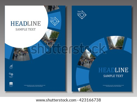 Cover Design - Vector Illustration, Graphic Design  - stock vector