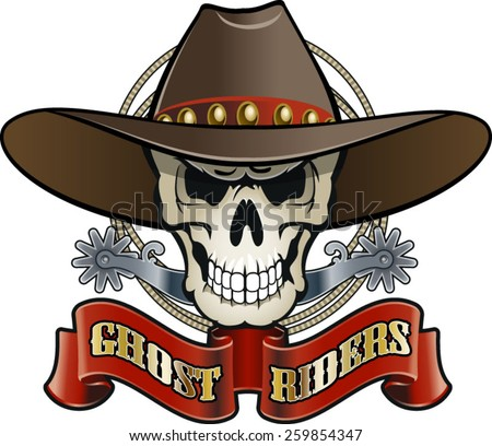 Skull Cowboy Stock Images, Royalty-Free Images & Vectors ...