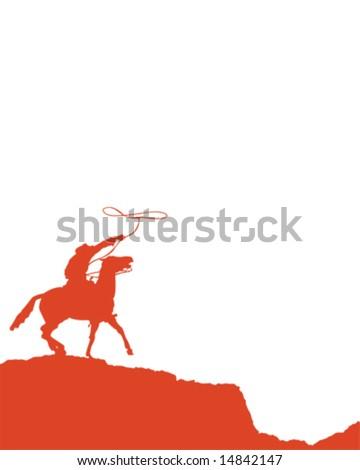 Cowboy United - stock vector