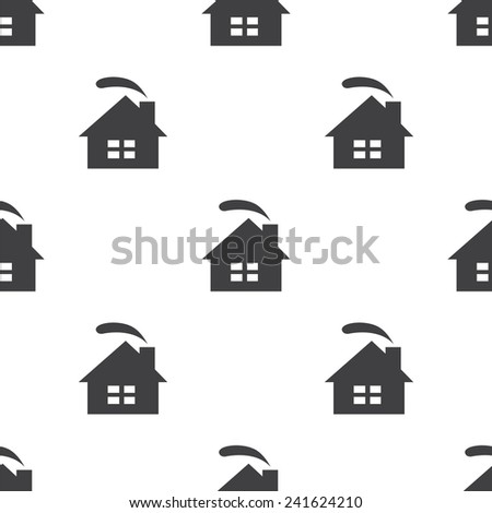 cozy home, vector seamless pattern, Editable can be used for web page backgrounds, pattern fills   - stock vector