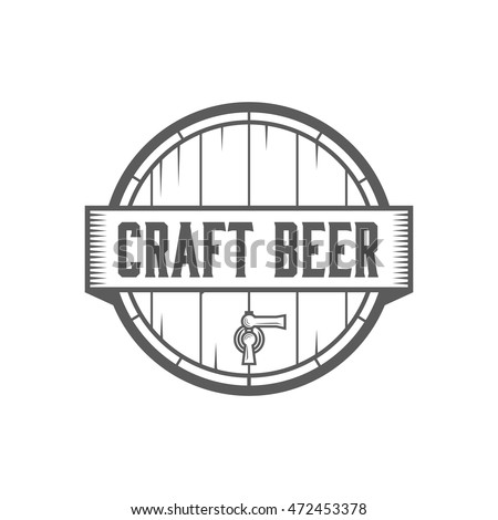 Brewery logo stock images royalty free images vectors for Craft beer logo design