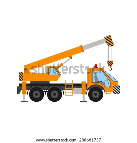 Crane, construction, site icon vectgor image. Can also be used for transport, transportation and travel. Suitable for mobile apps, web apps and print media.