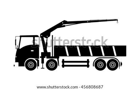 Crane Truck Stock Images Royalty Free Vectors