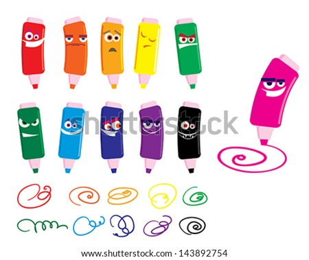 crayons - Cartoon Pictures Of Crayons