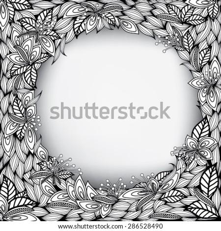 Creative Abstract Invitation Card, Vector Illustration EPS10 - stock vector