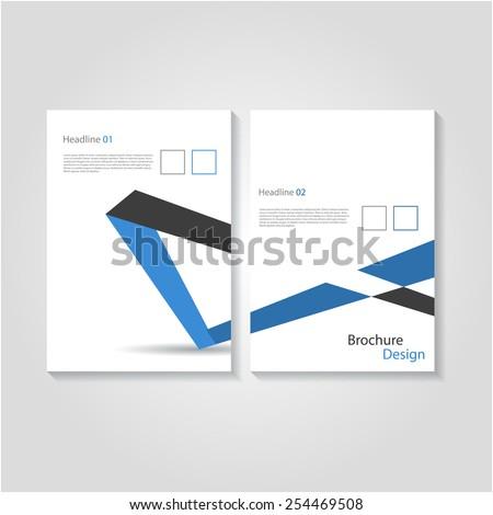 Creative brochure / flyer design. - stock vector