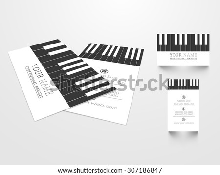 Name card stock images royalty free images vectors for Creative music business cards