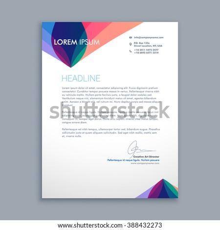 Creative Business Letterhead