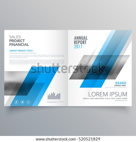 Creative business magazine booklet layout template stock vector creative business magazine booklet layout template with abstract shapes cheaphphosting Images