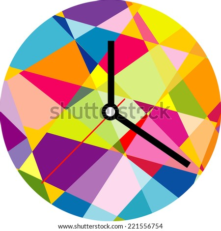 Square Clock Stock Images Royalty Free Images Amp Vectors