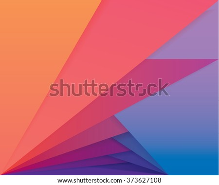 Creative colorful material design style color palette pattern wallpaper - stock vector