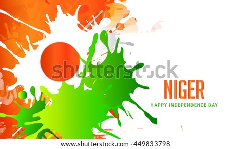 Creative illustration for independence day of niger.