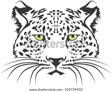 Creative Leopard Illustration - stock vector