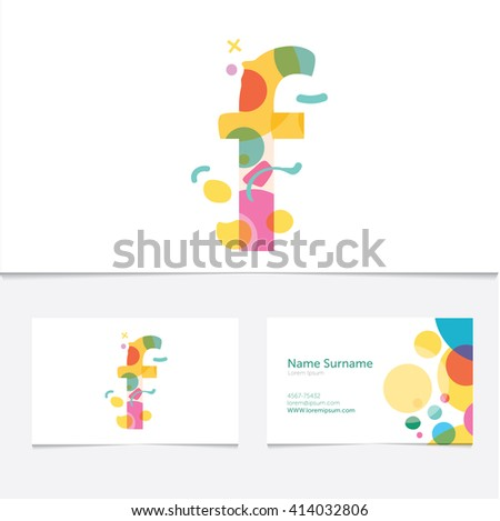 Creative letter f design vector template stock vector hd royalty creative letter f design vector template on the business card template abstract colorful alphabet thecheapjerseys Gallery