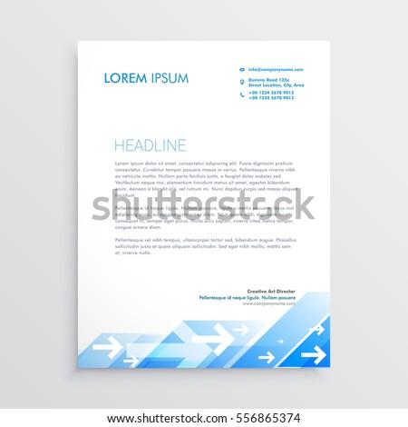 letter head designing