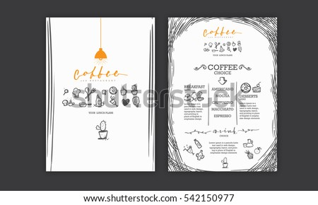 Food Menu Layout Stock Images, Royalty-Free Images & Vectors ...