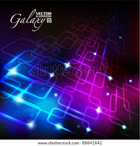 creative network design vector background