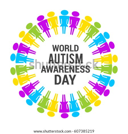 creative poster banner world autism awareness stock vector royalty