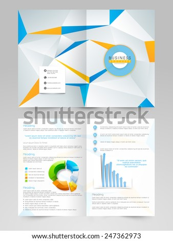 Creative Professional Business 2 Page Flyer Stock Vector Hd Royalty