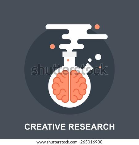 Creative Research - stock vector