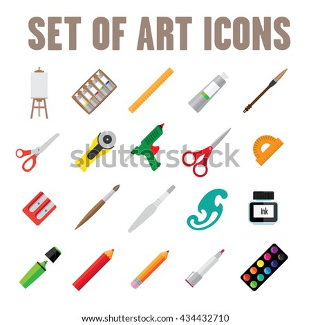 Creative Tools icon set