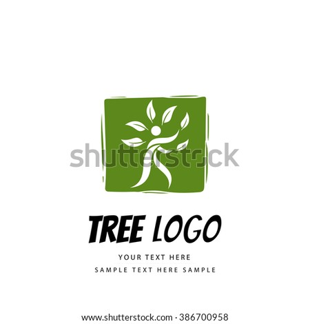 Creative tree design - stock vector