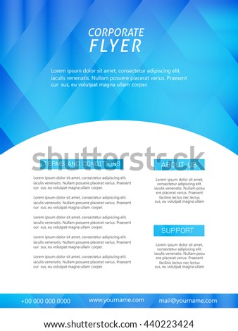 creative vector abstract or Brochures with nice and creative illustration in a background.