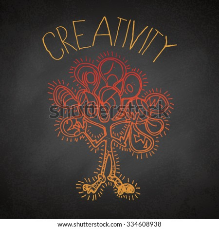 Creativity Graphic - stock vector