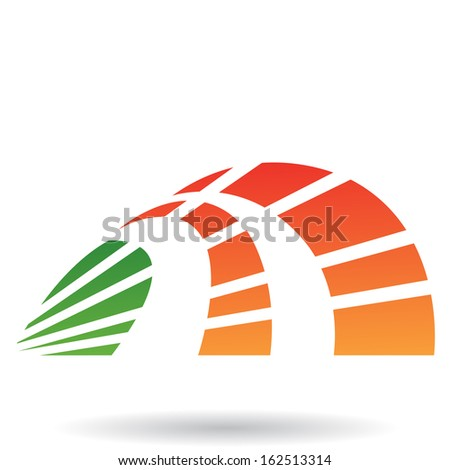 Crest Shaped Abstract Icon