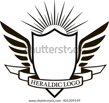 Crest Classic Design Elements Use Logo Stock Photo (Photo, Vector ...