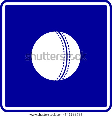 cricket ball sign