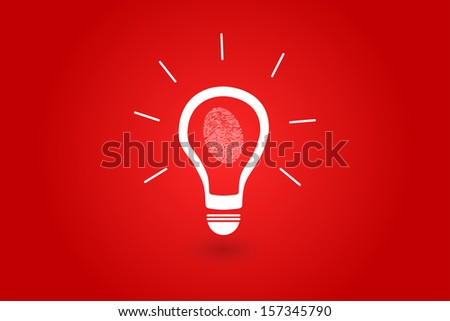 Crime Investigation Idea About Finding The Criminal - stock vector