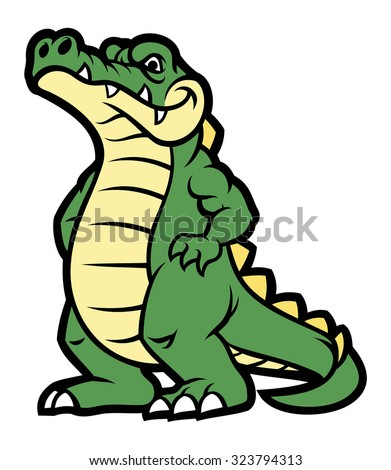 Angry Alligator Stock Images, Royalty-Free Images ... - photo#12