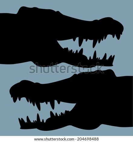 """Crocodile head """""""" Stock Photos, Images, & Pictures ..."""