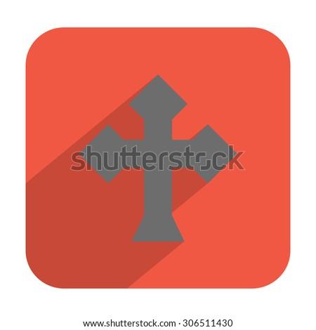 Cross icon - stock vector