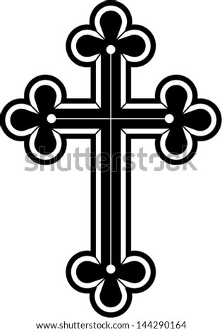 cross illustration - stock vector