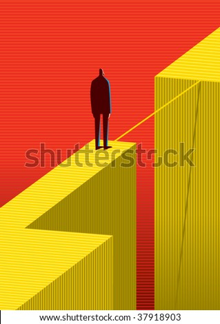 cross other side - stock vector