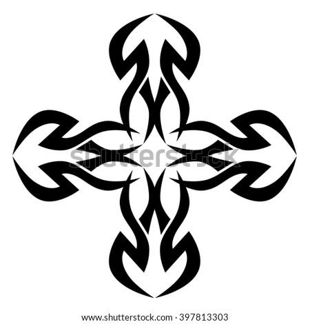 Easy Cross Tattoo Designs 13162 Usbdata