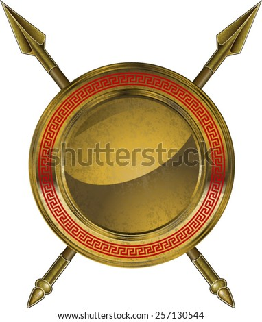 Spartan Shield Stock Images, Royalty-Free Images & Vectors ...