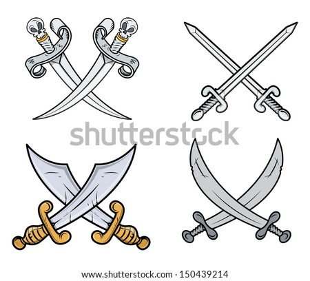 Cross tattoo symbol stock photos images pictures for Crossed swords tattoo
