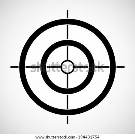 Crosshair - stock vector