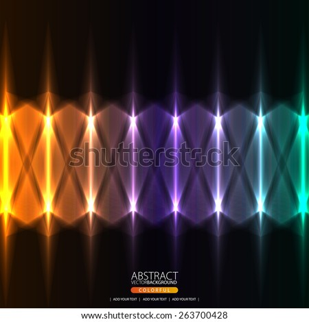 Crossing lights texture - stock vector