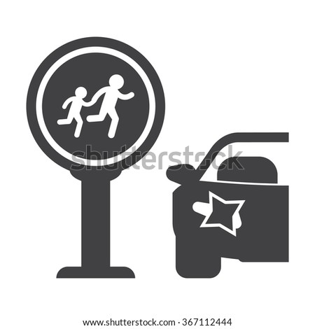Crosswalk Icon. Crosswalk Icon Vector. Crosswalk Icon Simple. Crosswalk Icon App. Crosswalk Icon Web. Crosswalk Icon Logo. Crosswalk Icon Sign. Crosswalk Icon UI. Crosswalk Icon Flat.  - stock vector