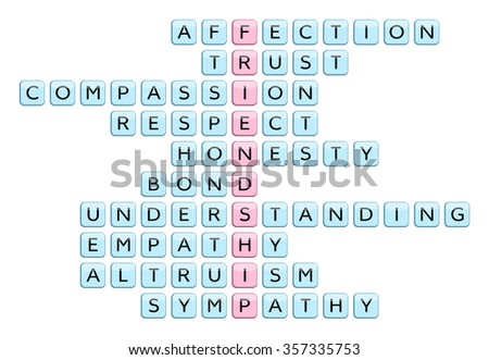 Shows some affection crossword