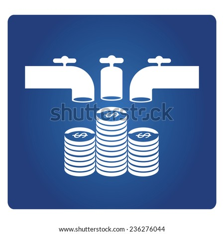 crowd funding, multi source of fund, monetary contributions - stock vector