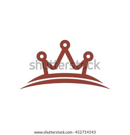 Crown Logo King Royal Queen Symbol Stock Vector 452714143 Shutterstock